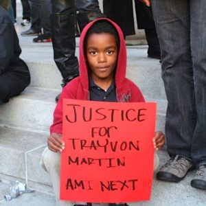 Justice for Trayvon Martin by Amber Stephens