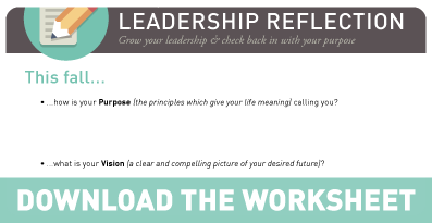 6 leadership reflections for fall worksheet - Reflections Worksheet